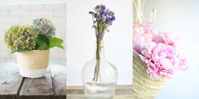 Decorar con flores diy
