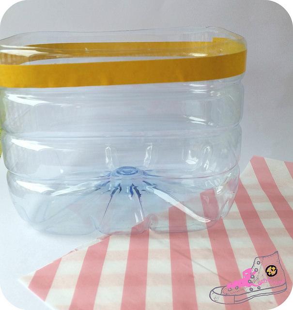 packaging con garrafa de agua