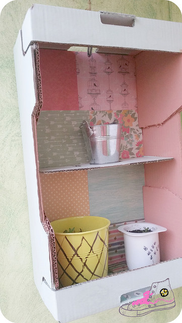 caja para plantas