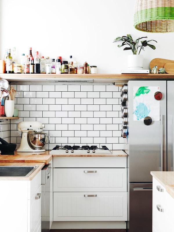 Decoración alegre para la cocina