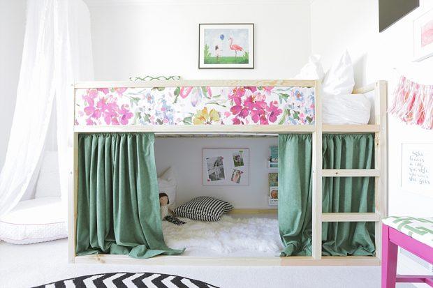 Un dormitorio Infantil muy colorido