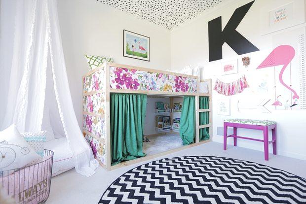 coloufull kid bedroom