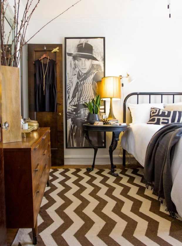 dormitorio muebles negros