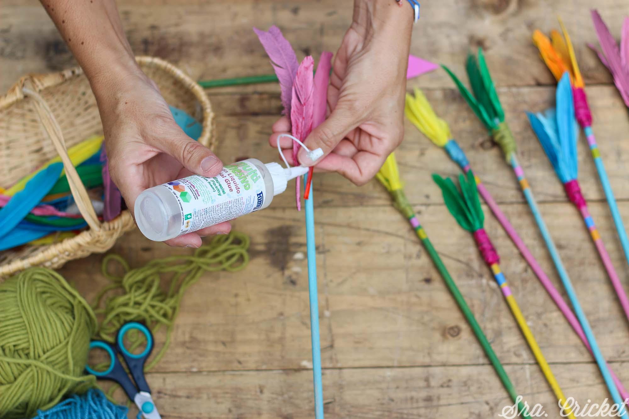 hacer portafolios con palos