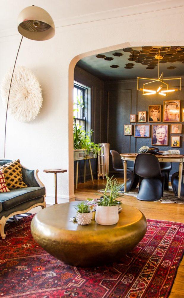 interior eclectico