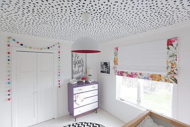 techo con lunares