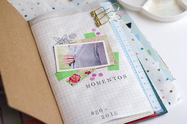 Cursos sobre memory keeping & scrapbooking para tu Traveler