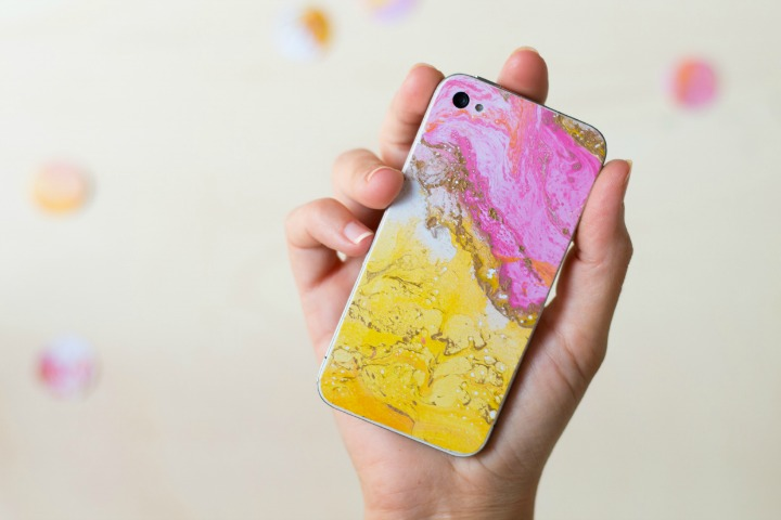 diy easy marmol iphone
