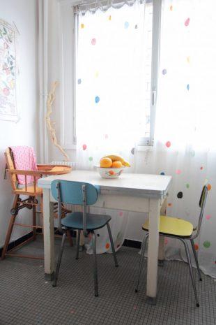 sillas retro cocina
