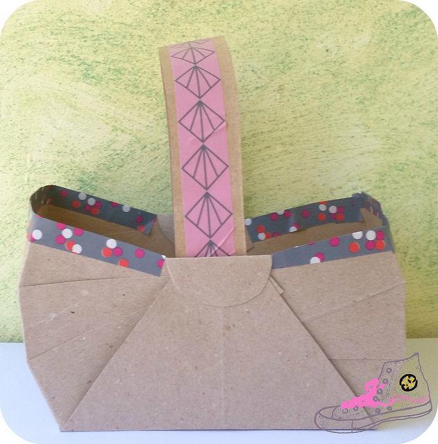 cesta de papel