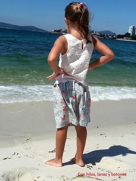 Con hilos, lanas y botones: faldas rápidas para niña