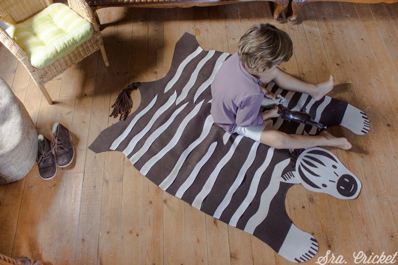 alfombra de fieltro