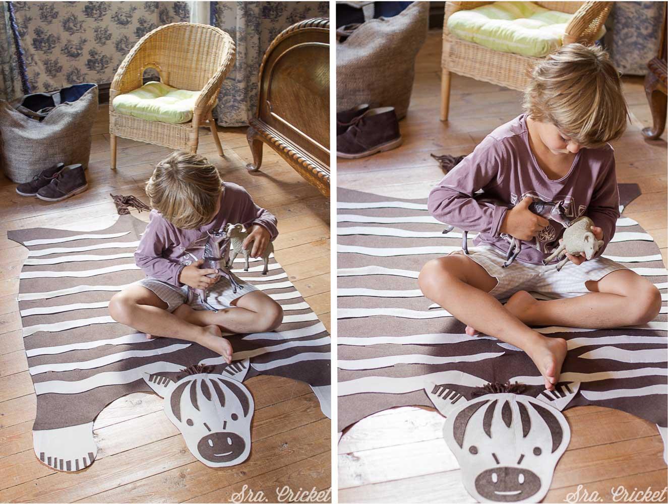 alfombra hecha a mano