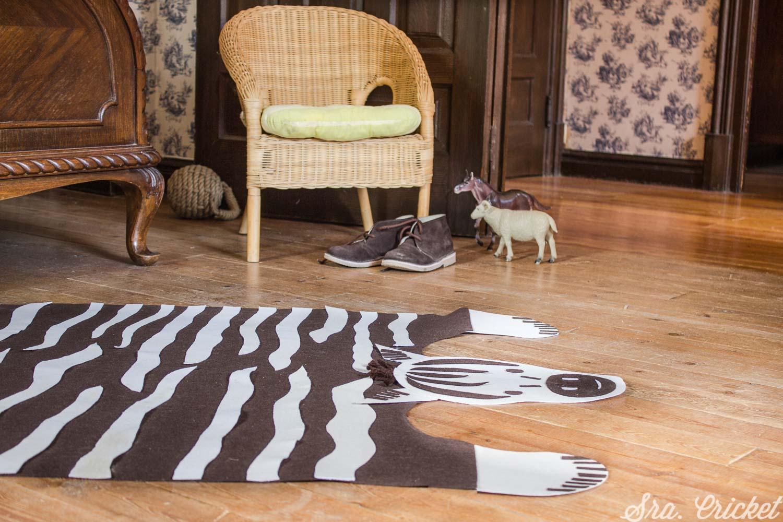alfombra infantil diy