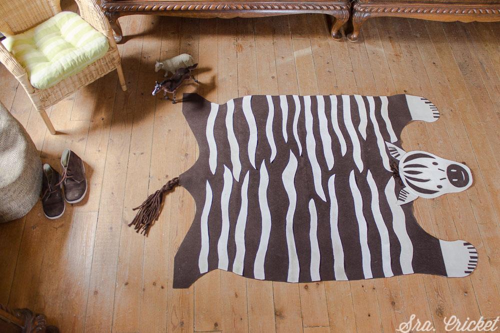 hacer alfombra de fieltro