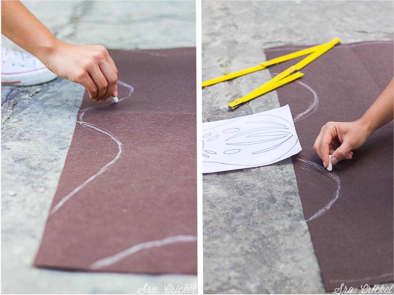hacer alfombra para niños