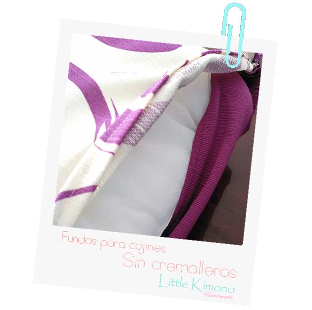 Fundas para cojines SIN Cremallera - Handbox Craft Lovers ...