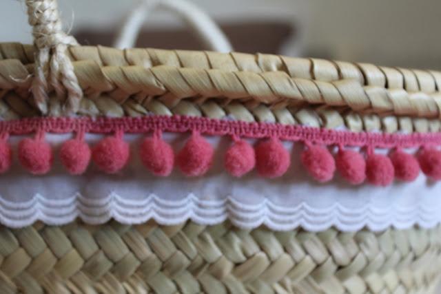 cesta decorada
