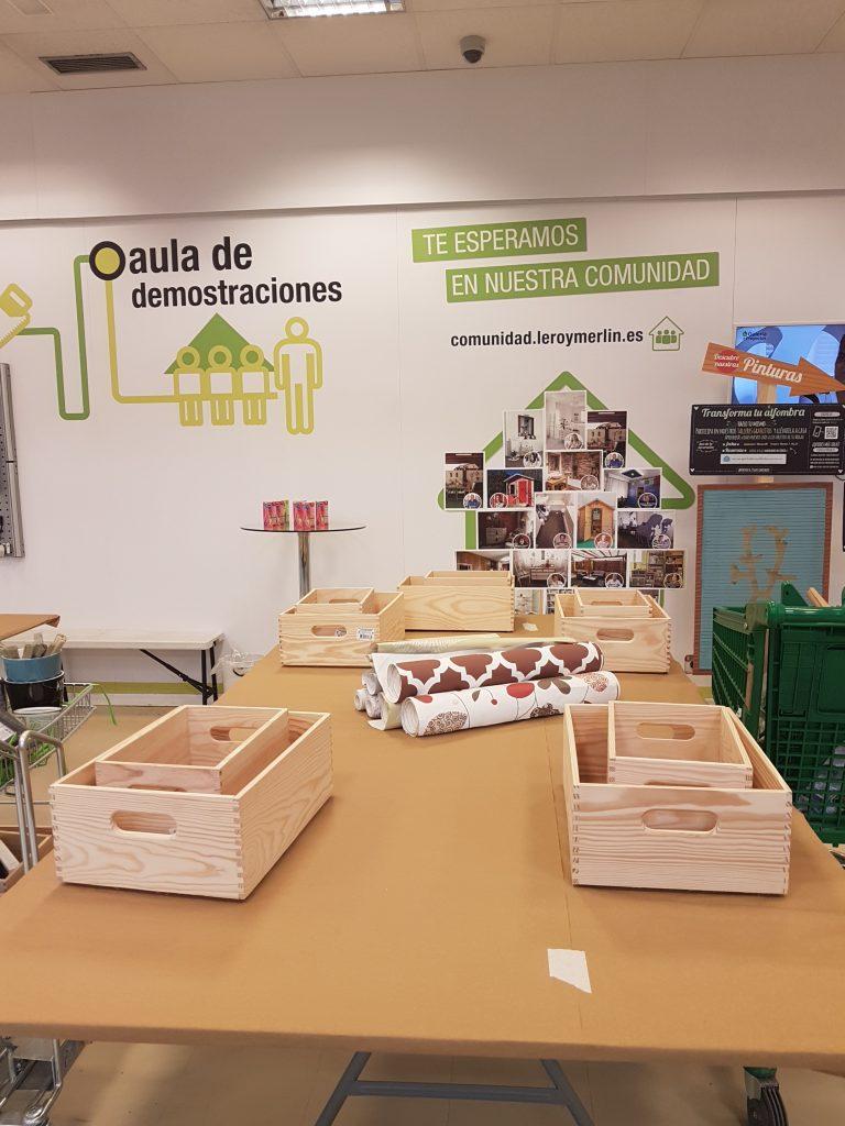 Estanterias DIY - Los momentos previos al taller