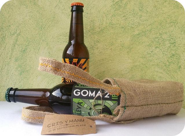 regalos de boda cerveza casera