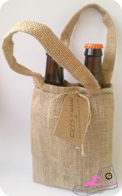 botellas de cerveza artesana