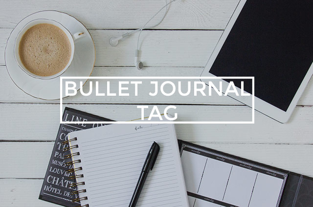 Bullet Journal Tag