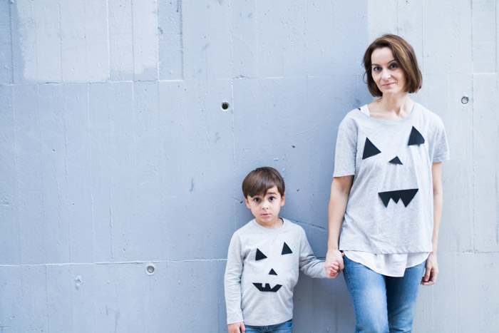 Camiseta Halloween diy