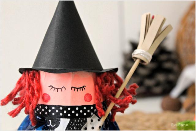 como-hacer-bruja-halloween-vaso-carton-reciclado-diy-pelo-ojos-coloretes