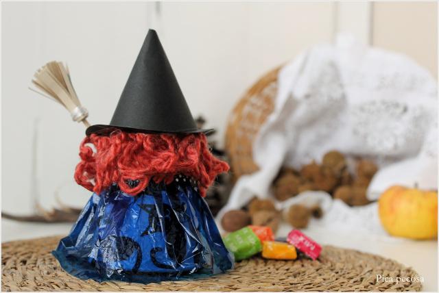 como-hacer-bruja-halloween-vaso-carton-reciclado-diy-sombrero