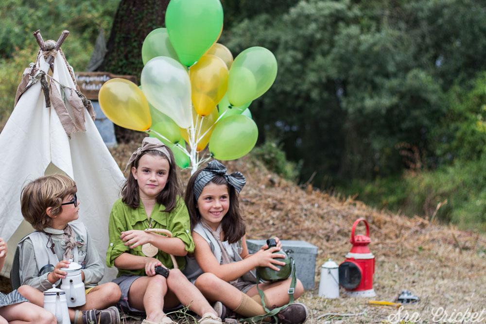 como preparar fiesta infantil exploradores