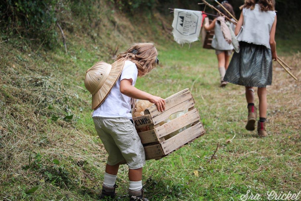 como preparar una fiesta infantil de exploradores