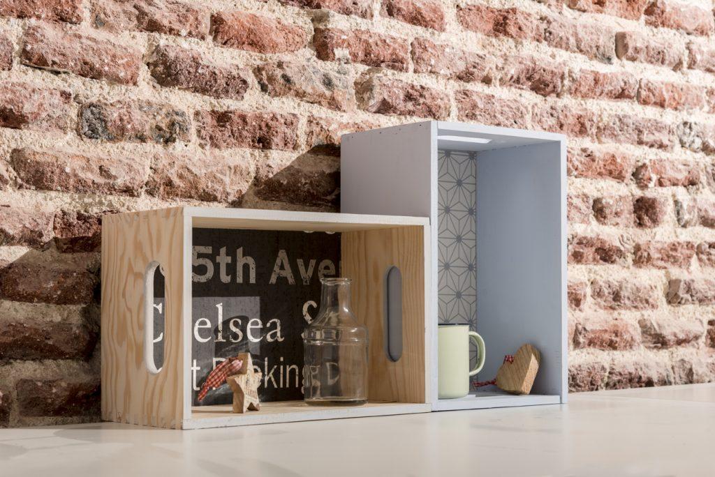 estanteria diy con-cajas-de-madera-taller-diy-resultado-final