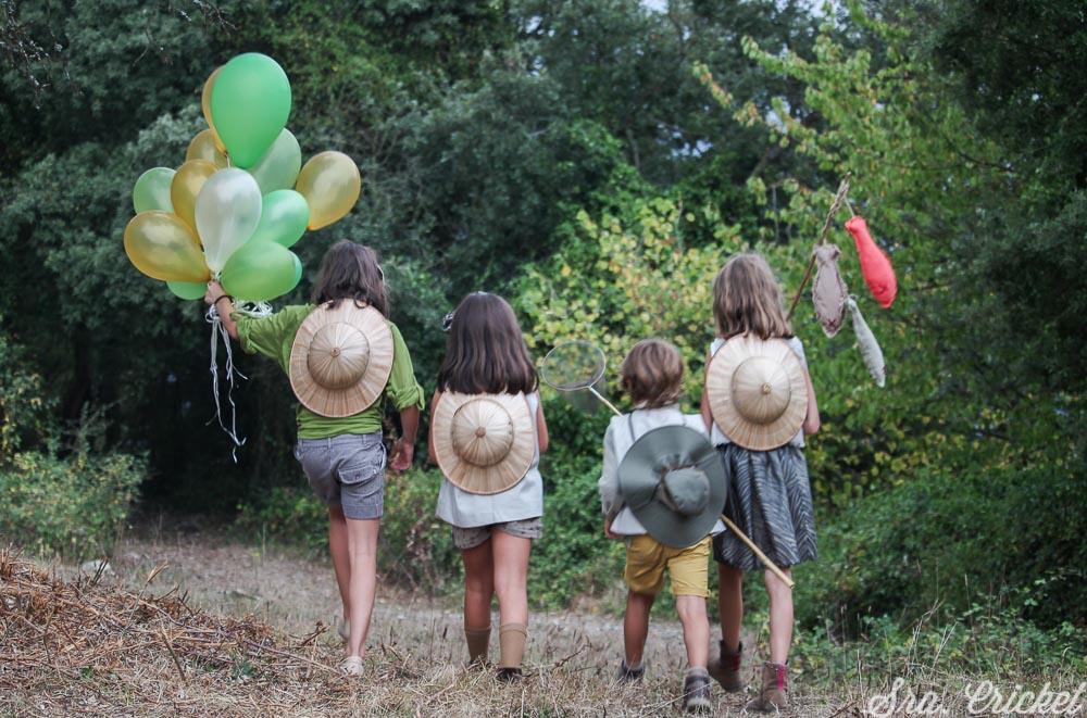 fiesta exploradores niños