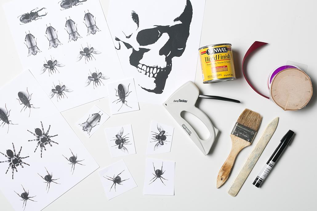 Cómo_decorar_tu_casa_para_Halloween_DIY_placas_madera_materiales