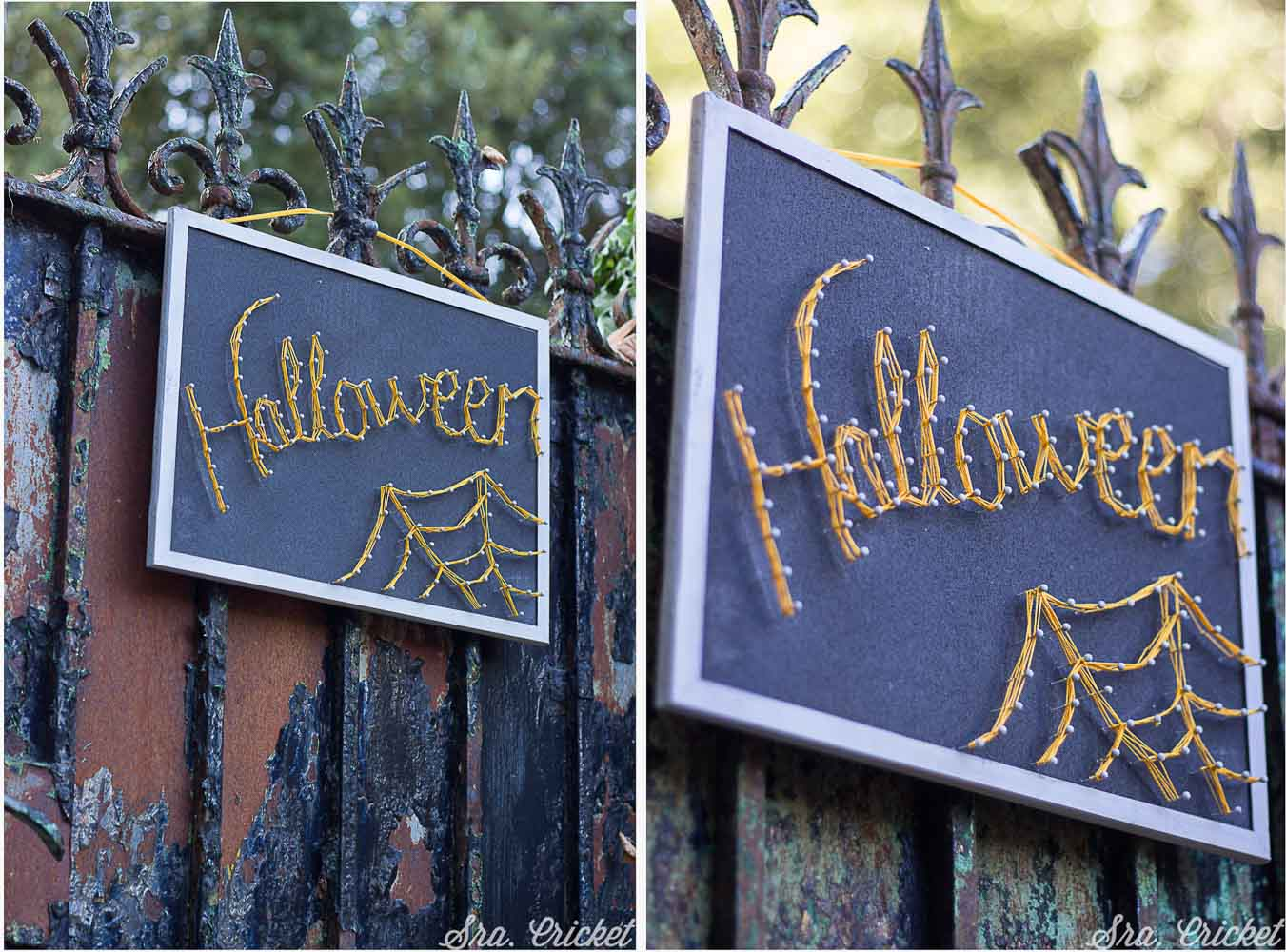 hilorama halloween string art