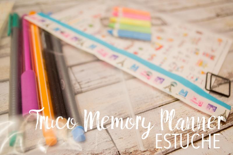 Truco Estuche para Memory Planner