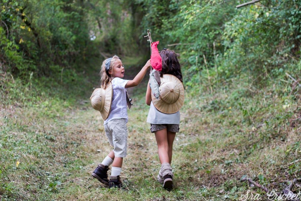 organizar una fiesta infantil en el campo