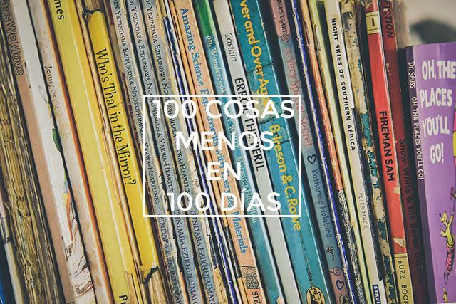 100 cosas menos en 100 días