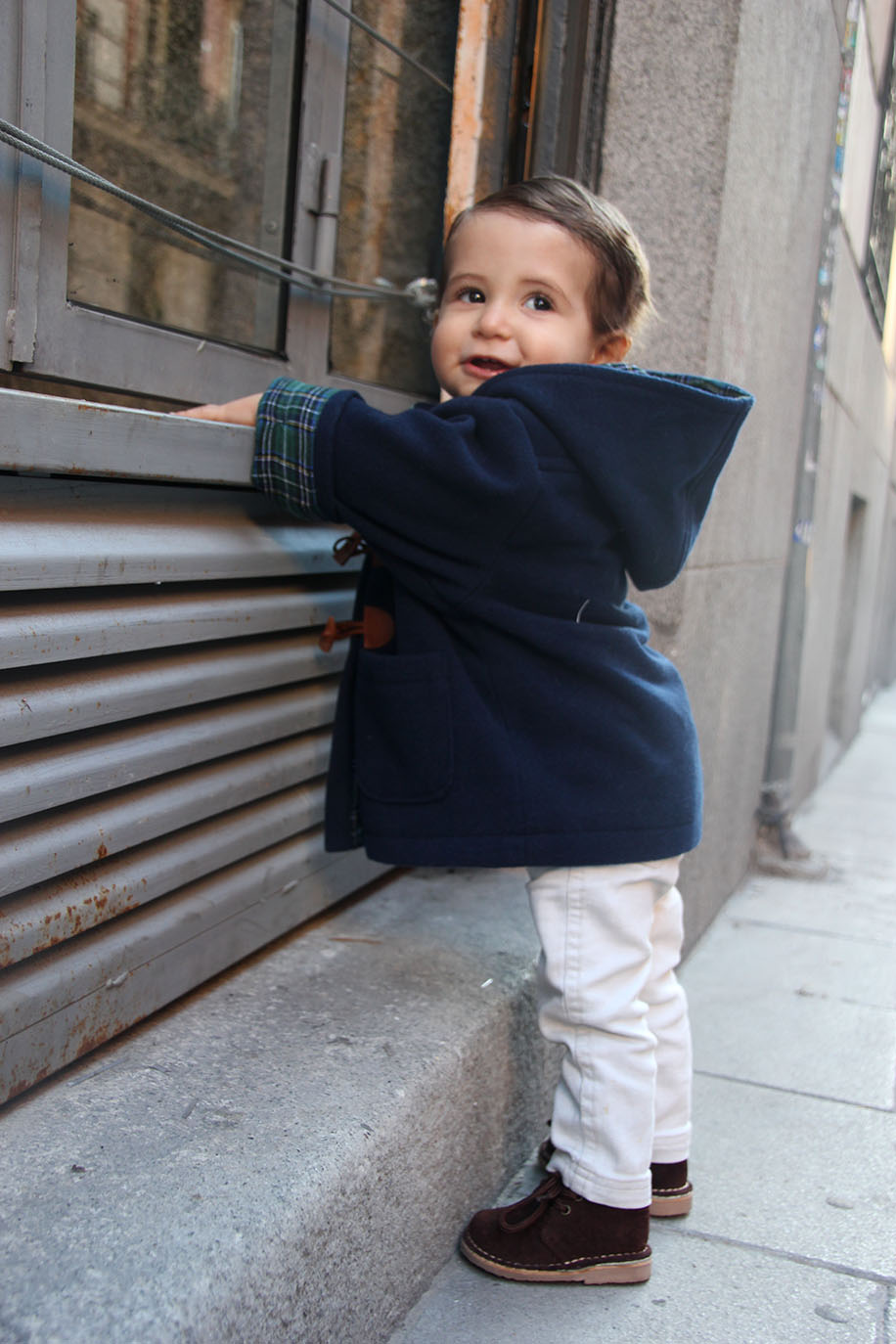 diy patrones gratis abrigo trenca bebe nino 12