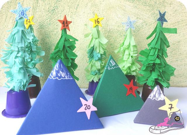montañas de papel