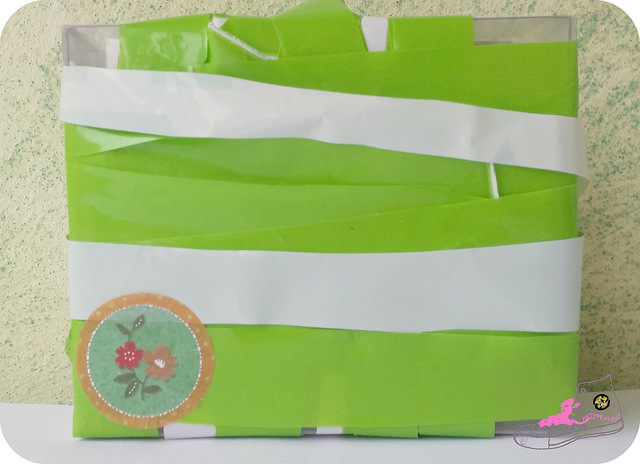 empaquetado con bolsas de plástico