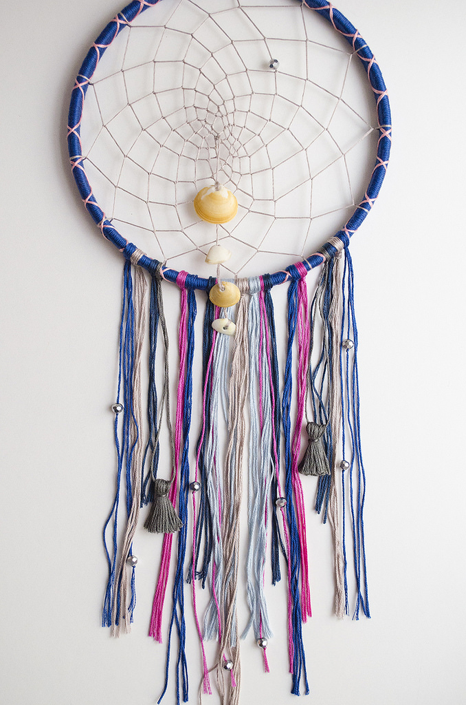 Reto Mouliné DIY Dreamcatcher