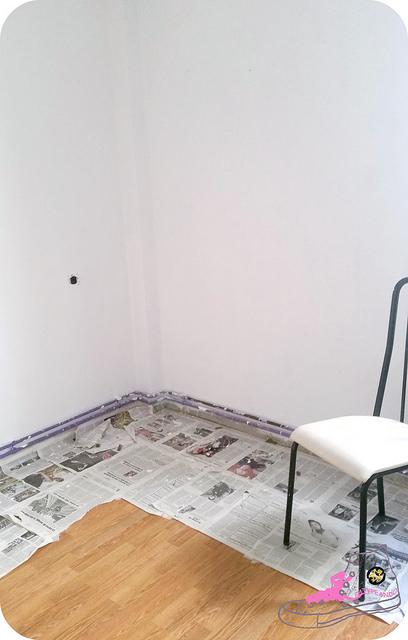 pintar de blanco