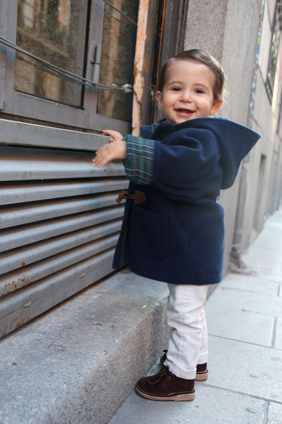 diy patrones gratis abrigo trenca bebe nino 13