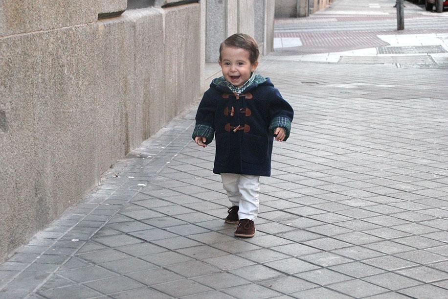 diy patrones gratis abrigo trenca bebe nino 24