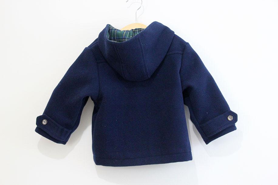 diy patrones gratis abrigo trenca bebe nino 10