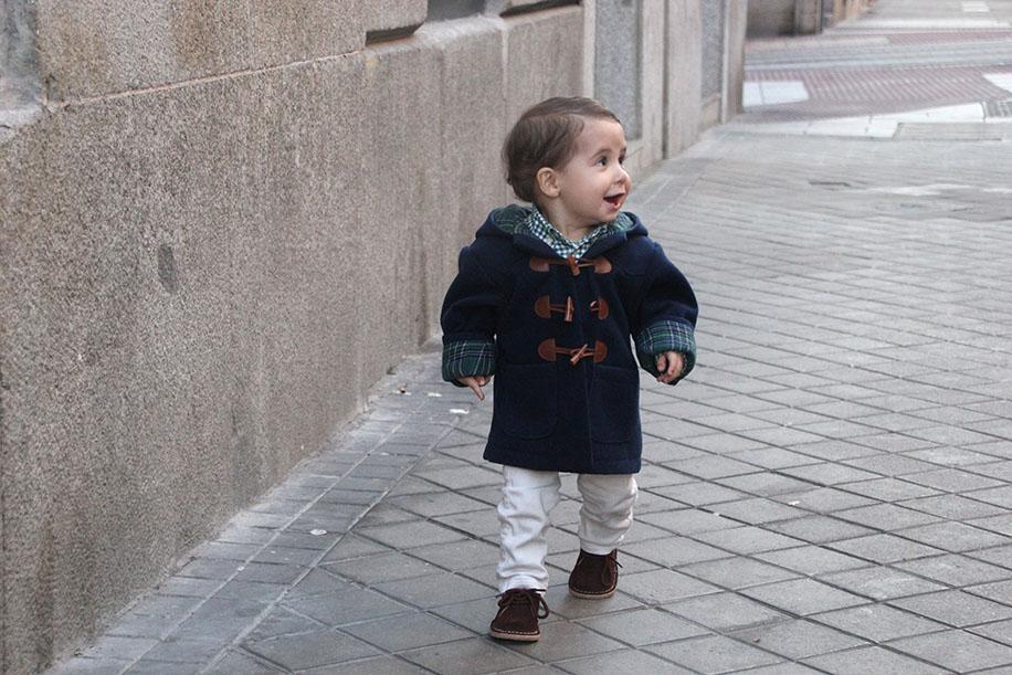 diy patrones gratis abrigo trenca bebe nino 16