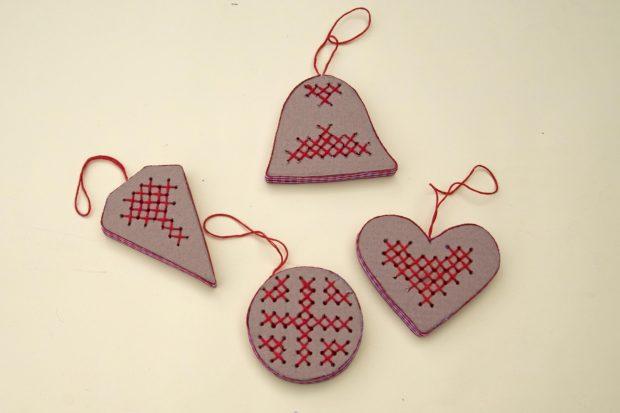 Como Hacer Adornos De Navidad Con Carton Reciclado Handbox Craft - Adornos-de-navidad-con-carton