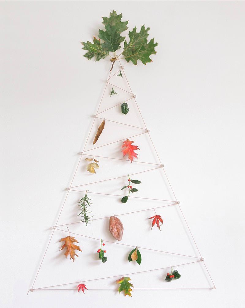 10 Árboles de Navidad para la pared - Handbox Craft Lovers ...
