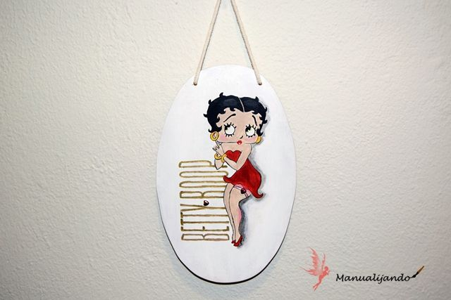 BETTY BOOP PINTADA A MANO - Handbox Craft Lovers | Comunidad DIY ...